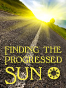 progressed sun