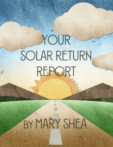 Working with Solar Return charts - Big Sky Astrology with